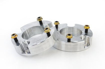 ReadyLIFT - 66-2215 - F150 2.25in Front Strut Spacer Billet Aluminum Leveling Kit (15-19)
