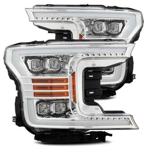AlphaRex - 880181 - Ford F-150 NOVA-Series LED Projector Headlights Chrome (18-20)
