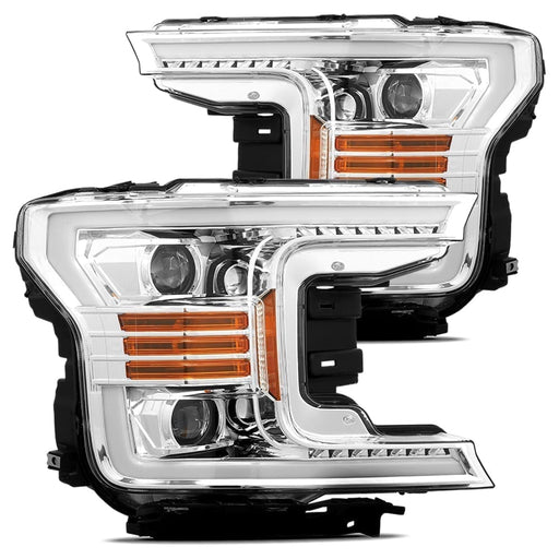 AlphaRex - 880187 - Ford F-150 PRO-Series Projector Headlights Chrome (18-20)