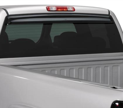 AVS - 93158 - F-150 Rear Window Vent Shade Sunflector Sun Deflector - Smoke (15-19)