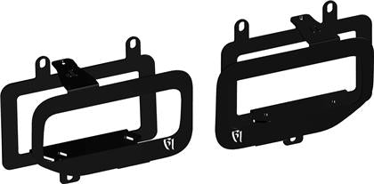 Rigid Industries - 46555 - F150 Dual Fog Light Mounts (15-17)