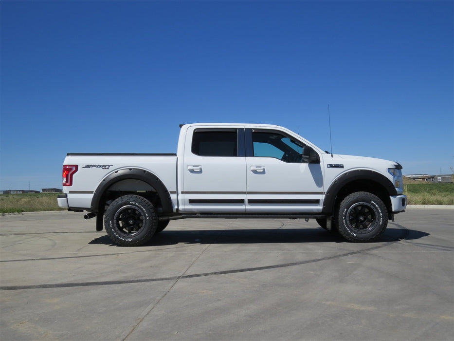 EGR - 793475 - F-150 Bolt-On Look Fender Flares Matte (15-19)