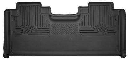 Husky Liners - 53451 - F150 SuperCab X-Act Contour 2nd Seat Rear Floor Liners (15-19)
