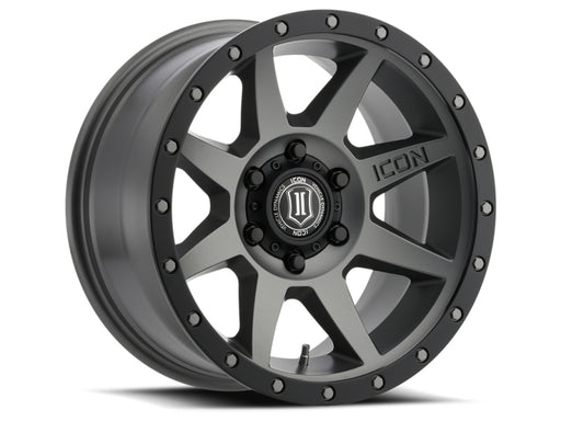 "Icon - 1817856350TT -  Ford F-150 Rebound 17x8.5"" Titanium Wheel (15-20)"