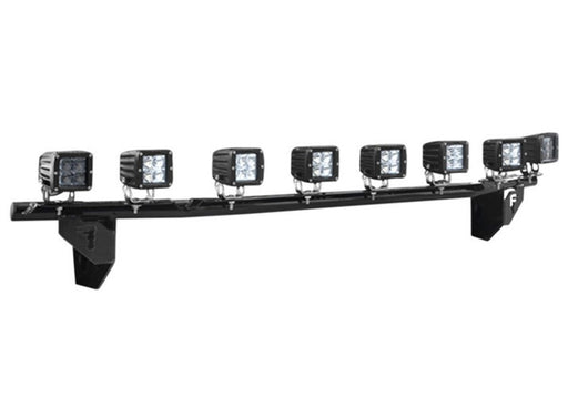 N-Fab - F1530LD-TX - Ford F150 Light Bar Multi-Mount Black (15-17)