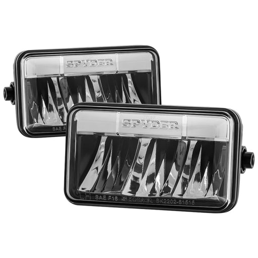 Spyder - 5083968 - Ford F-150 Fog Light - Chrome - FL-YD-FF15015-LED-C (15-17)