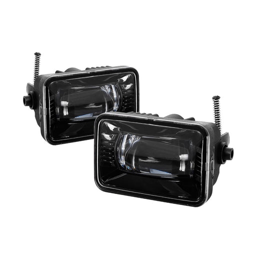 Spyder - 9043277 - Ford F-150  Full LED Fog Lights w/o Switch (15-18) / Ford F-250/F-350 (17-18)