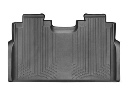WeatherTech - 44697-1-4 - F-150 Front Row Bench and Rear FloorLiners - Black (SuperCab 15-19)