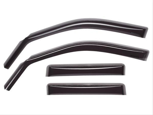 WeatherTech - 82765 - F150  Front Rear Side Window Deflectors Dark Smoke SuperCrew (15-19)
