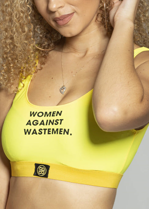 Women Against Wastemen Crop Top
