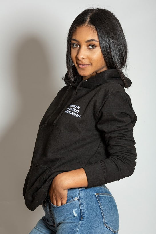 Women Against Wastemen  Hooded Jumper