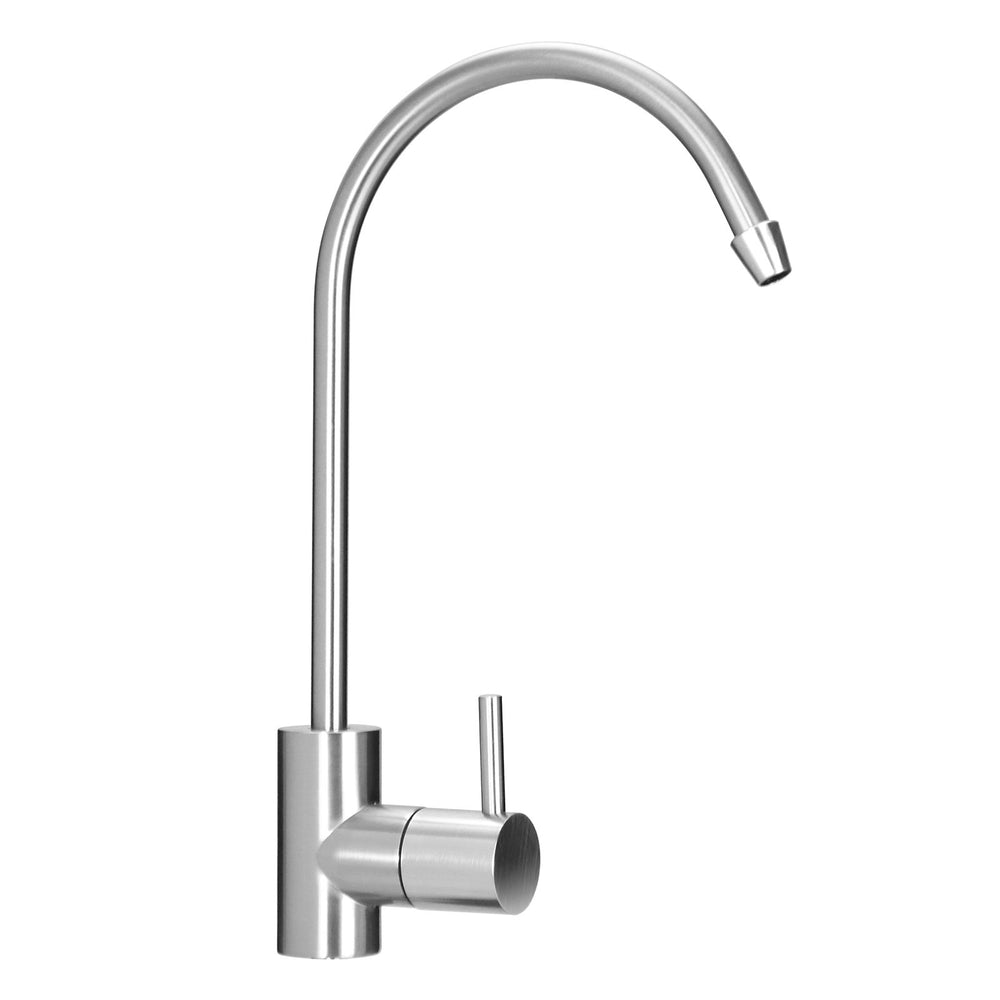 PUROFLO Brushed Nickel Contemporary Filter Faucet