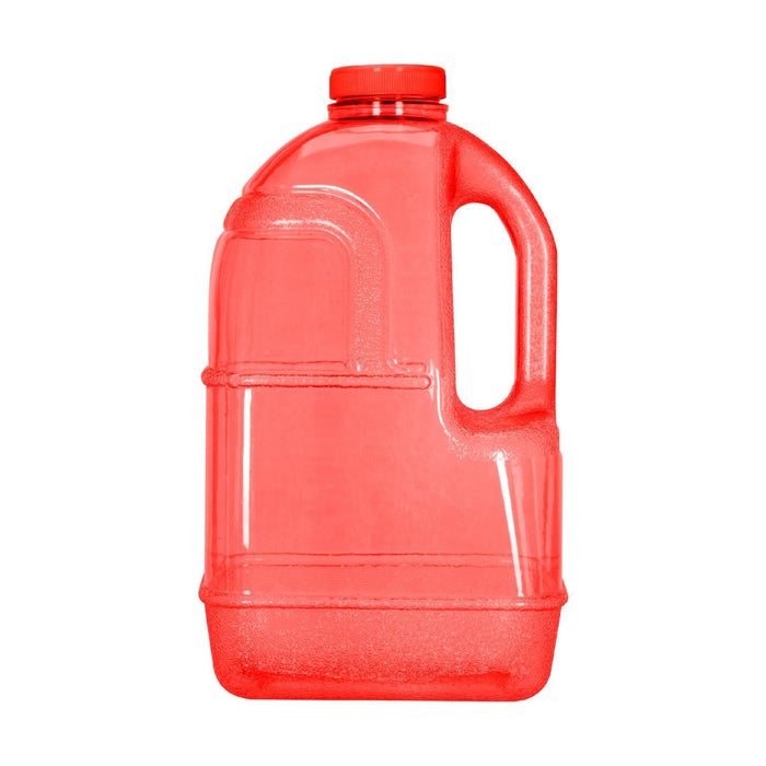 BPA Free 1 Gallon Juice Bottle, Water Bottle, Plastic Bottle, with Screw Cap, GEO