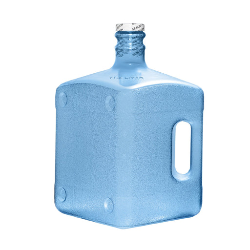 3 Gallon Square Polycarbonate Plastic Reusable Water Bottle with Screw Cap
