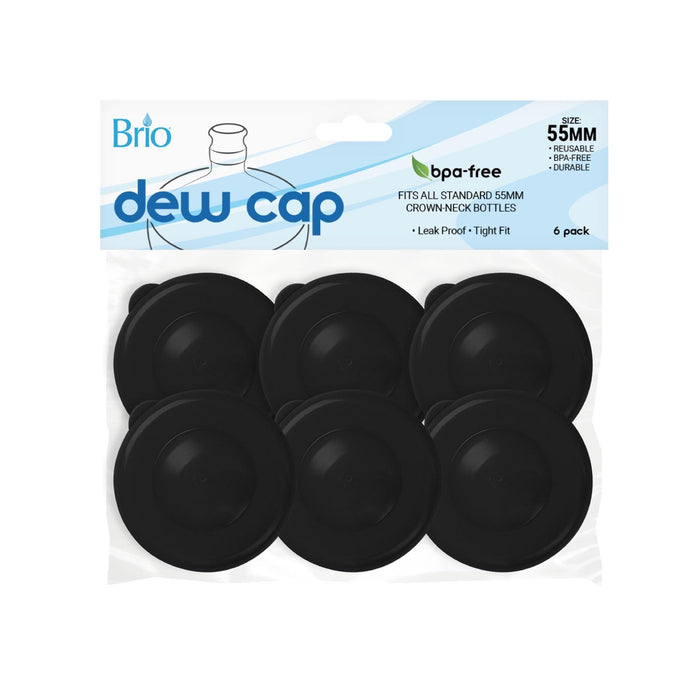 55MM Push Cap (6-Piece) Display Packages