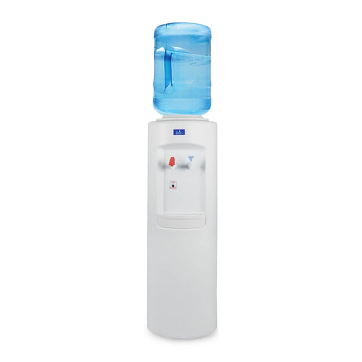 Hot and Cold Water Dispenser Cooler Top Load, White, Brio Essential