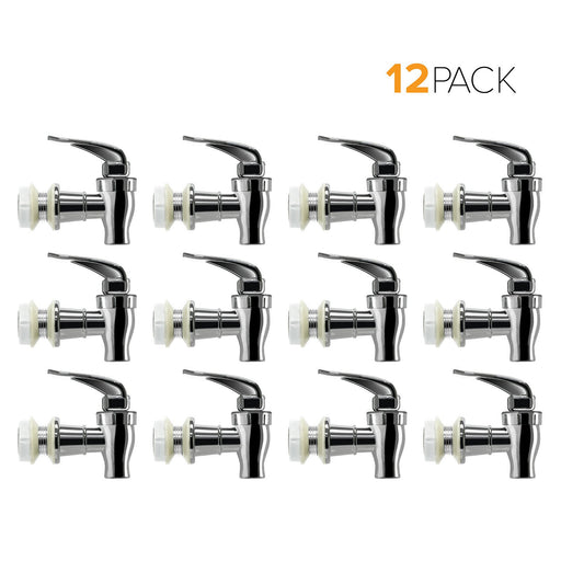Standard Replacement Valve Display Packages (12-Piece) for Crocks and Water Bottle Dispensers