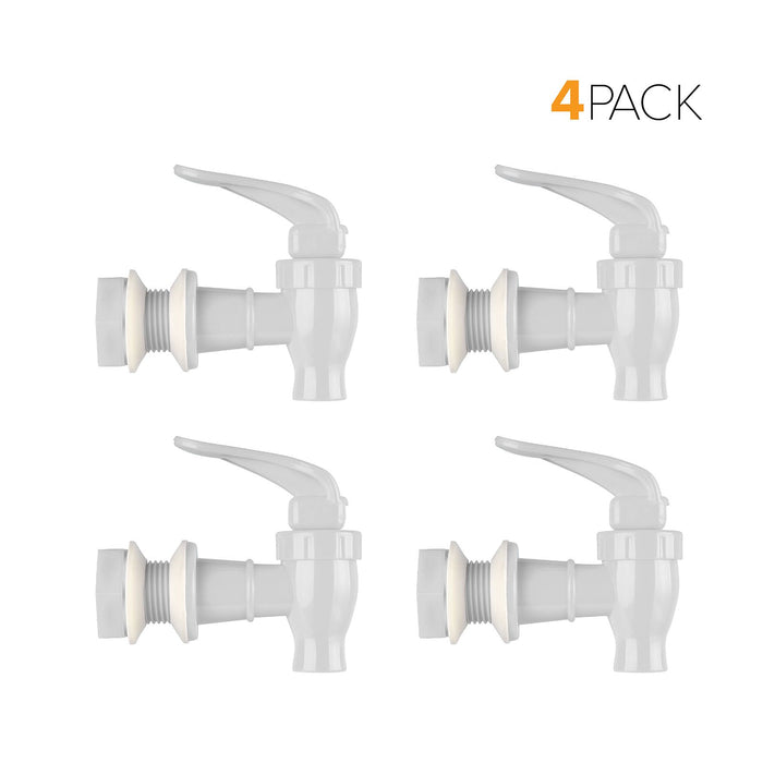 Standard Replacement Valve Display Packages (4-Piece) for Crocks and Water Bottle Dispensers