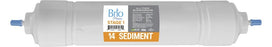 "Brio 2.5"" x 14"" S-Type Sediment Replacement Filter w/ 1,400 ml capacity"
