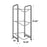 Brio Metal Bottle Storage Rack - 3 Metal Bottles