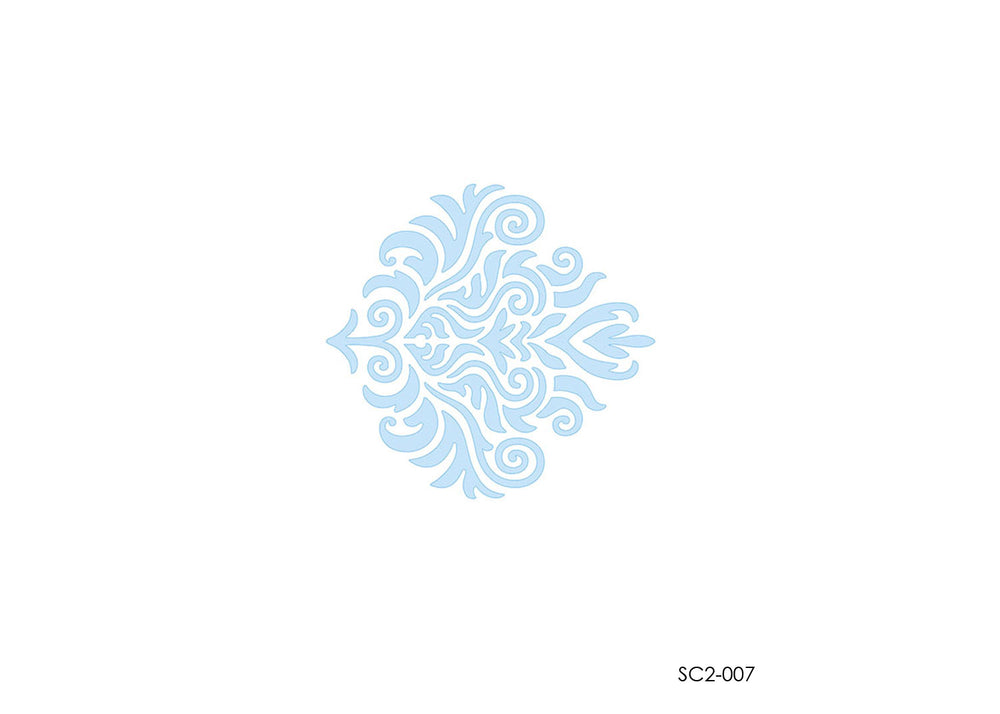 Stencil set - Arabesque #4 | Litoarte