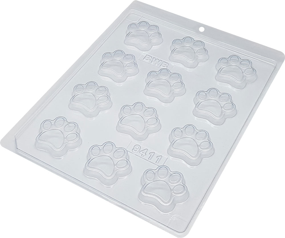 Acetate mold - Dog paws | BWB 9411
