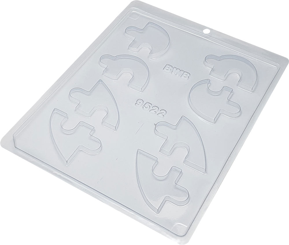Acetate mold - Heart shaped puzzle | BWB