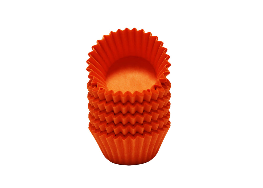 Candy cups, easy peel - Size 4 - Orange | Ultrafest