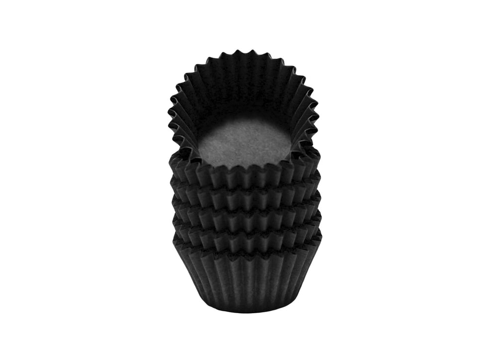 Candy cups, easy peel - Size 4 - Black | Ultrafest