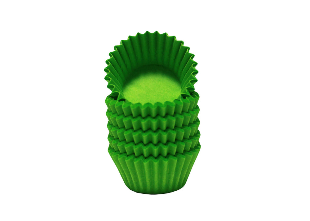 Candy cups, easy peel - Size 4 - Green | Ultrafest
