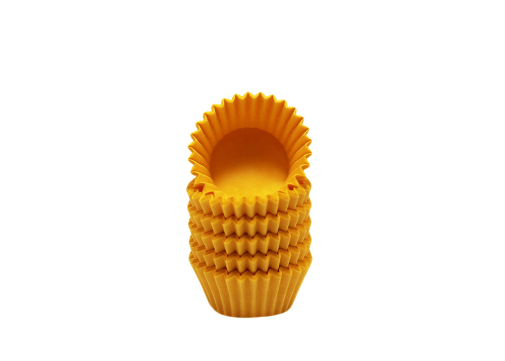 Candy cups, easy peel - Size 5 - Yellow | Ultrafest