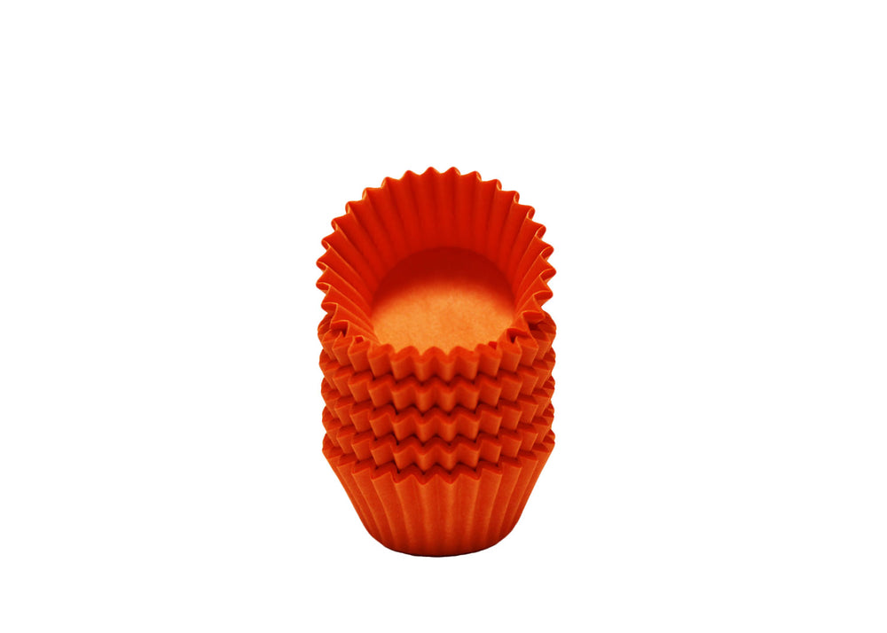 Candy cups, easy peel - Size 5 - Orange | Ultrafest