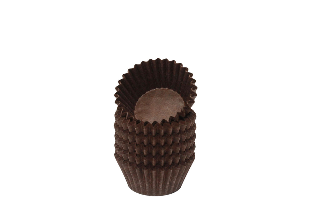 Candy cups, easy peel - Size 5 - Brown | Ultrafest