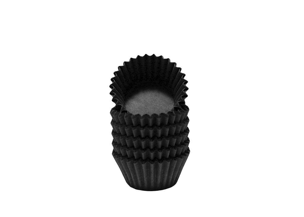 Candy cups, easy peel - Size 5 - Black | Ultrafest