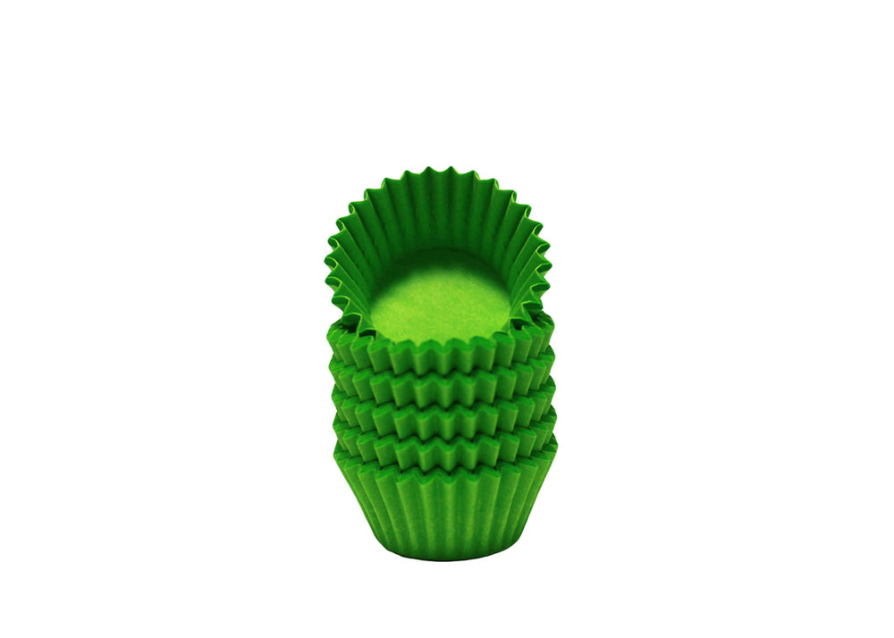 Candy cups, easy peel - Size 5 - Green | Ultrafest