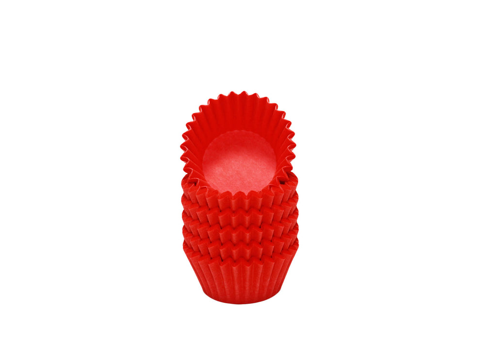 Candy cups, easy peel - Size 5 - Red | Ultrafest