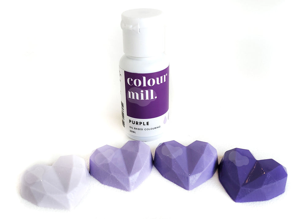 Purple gel food colouring - Colour Mill Canada | Corante em gel para chocolate - Roxo
