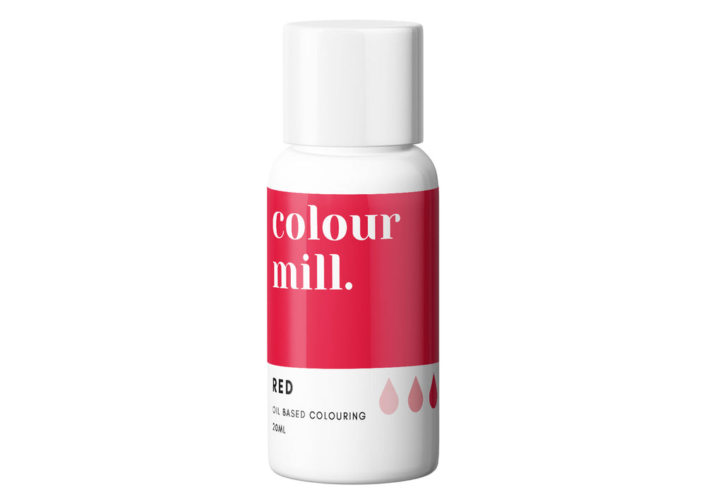 Red gel food colouring - Colour Mill Canada | Corante em gel para chocolate - Vermelho