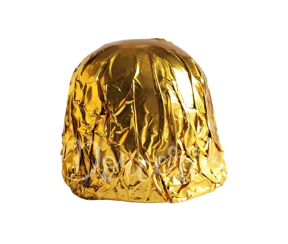 Foil Wrapper 4x4 in - Gold - 120 pcs