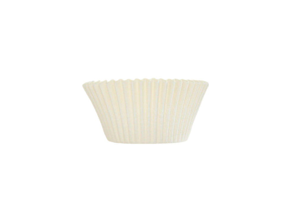 Cupcake baking cups, easy peel - White - 57 pcs | Ultrafest