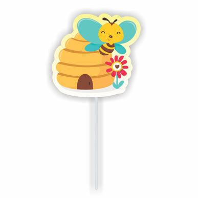 Cupcake toppers - Bee hive - 10 pcs | Duster Festas