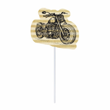 Cupcake toppers - Motorcycle - 10 pcs | Duster Festas