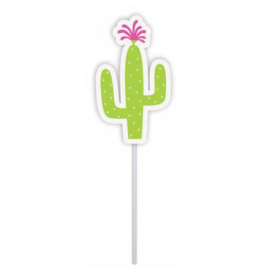 Cupcake toppers - Cactus - 10 pcs | Duster Festas