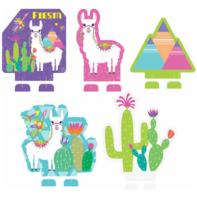 Decorative display - Llama theme - Display decorativo - Lhama - Duster Festas