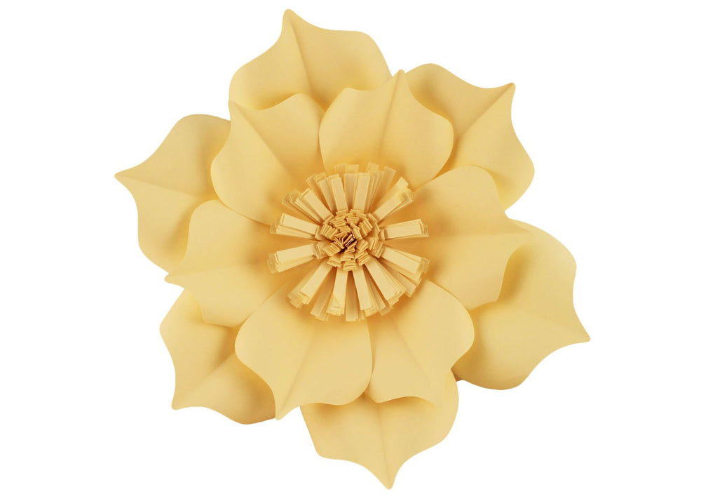Decorative giant flower - Cream color wildflower - 1 pc | Decora Doces