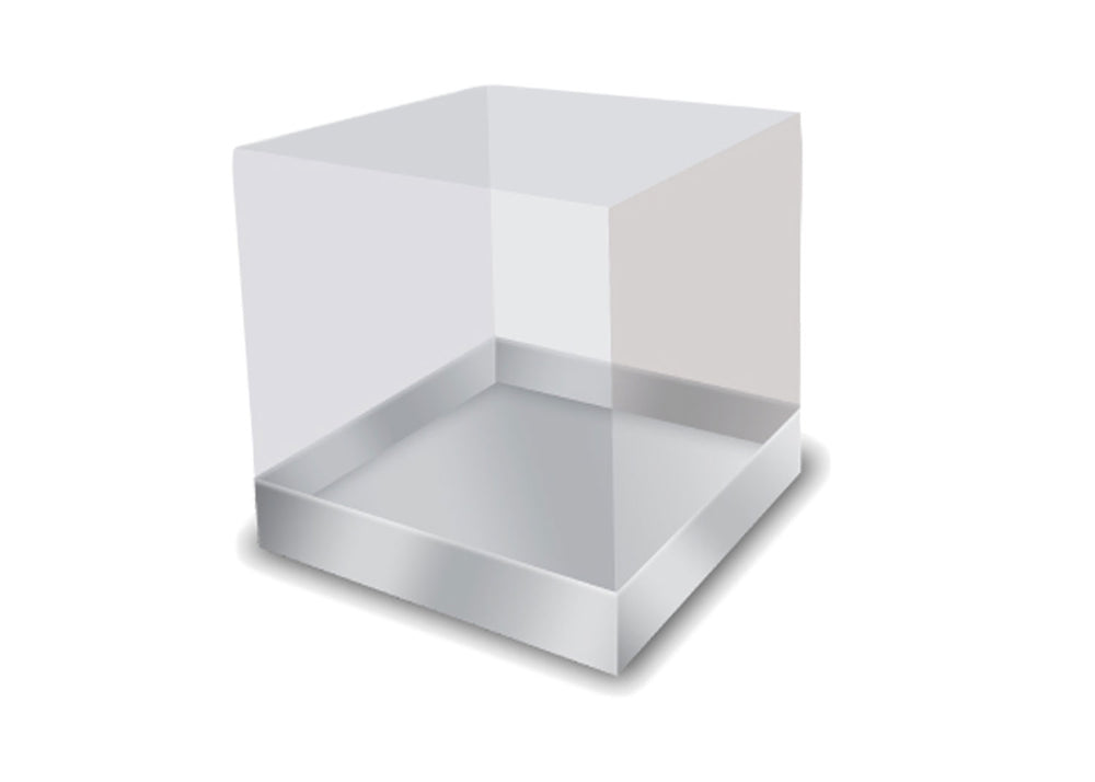Cake box - Silver | Ultrafest