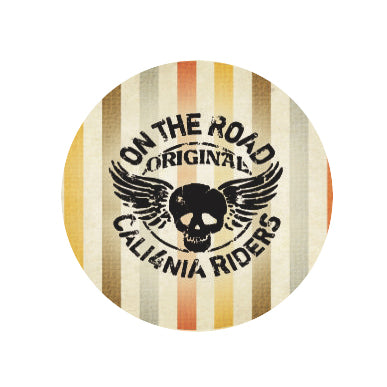 Round sticker - California theme - Adesivo redondo - California - Duster F