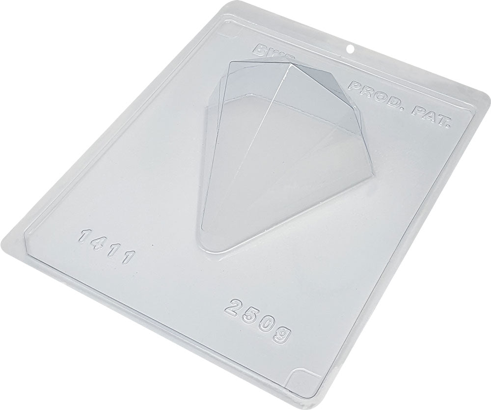 Special chocolate mold - Giant diamond 250g | BWB