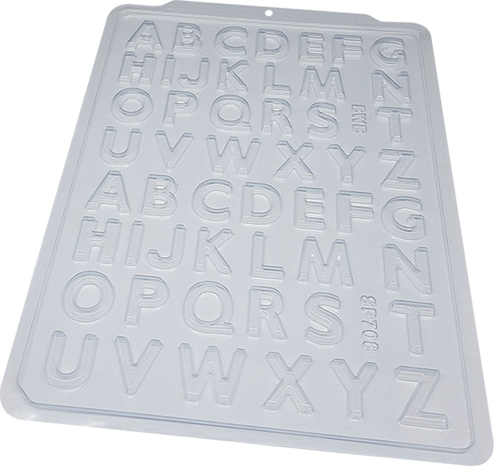 Semi-professional acetate mold - Alphabet | BWB