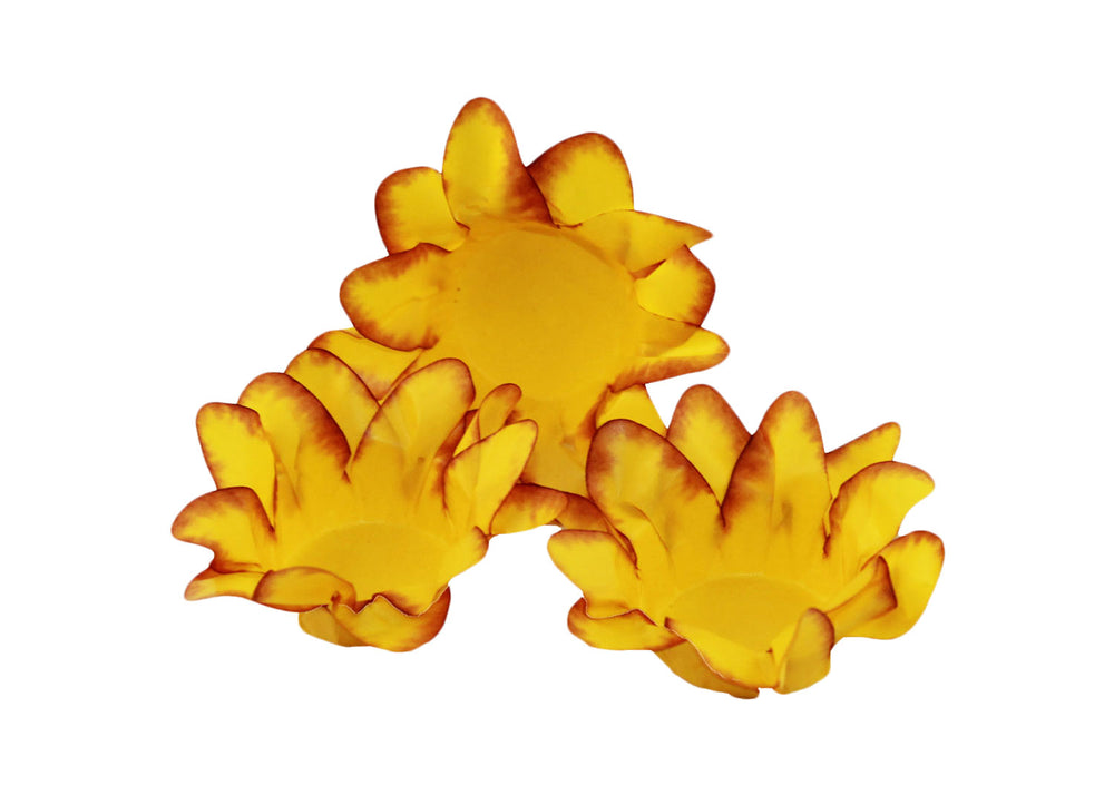 Truffle wrapper - Yellow Lily - 40 pcs | Decora Doces